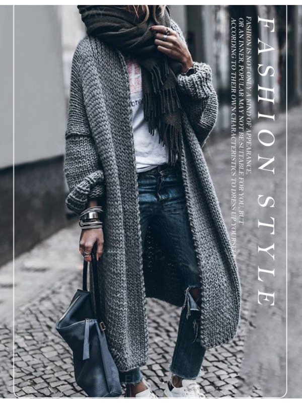 Casual Solid AllMatched Cardigan