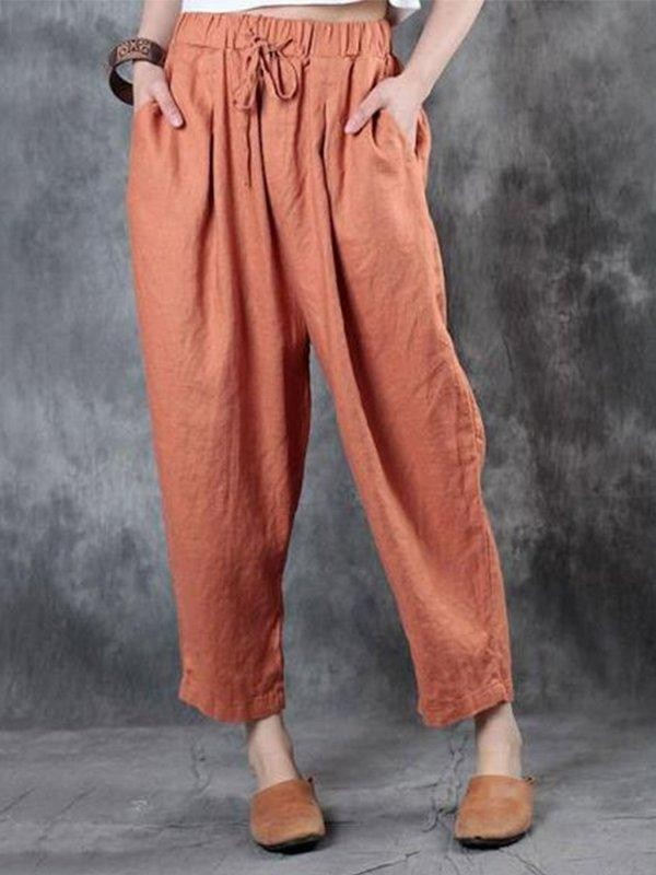 Casual Large Size Casual Pants